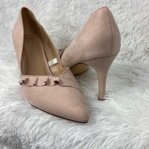 A New Day Blush Pink Heel Shoes Size 8 1/2